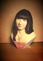 шоколадный портрет, бюст, шоколадный подарок, какао-шоколад