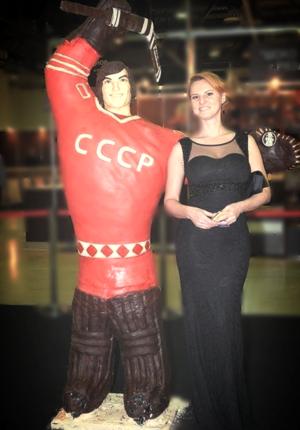 РТР, шоколад, скульптор, художник, Мила Закатова